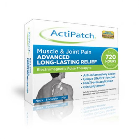 ActiPatch muscle and joint pain